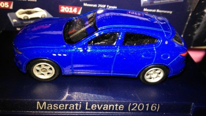 7-11 瑪莎拉蒂 1:60模型車 Maserati Levante 2016 (6號)