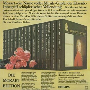 《Mozart Edition Philips 16 Box》
