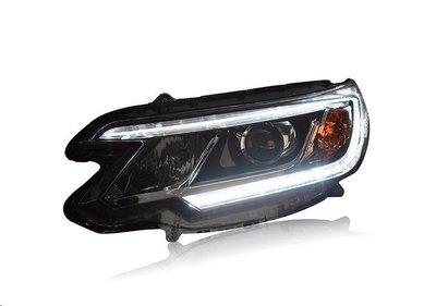 (小鳥的店)CRV 12 13 14 15 16 17 LED 導光 條 魚眼 大燈 日行燈 4代 四代 4.5代