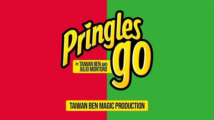 【天天魔法】【S1193】正宗原廠~品客幻覺(紅變綠)~Pringles Go by Taiwan Ben