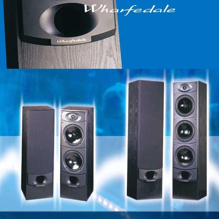 英國極品Wharfedale Xaruse XR-4000 第二代黑色款新二代喇叭