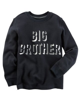 [carters現貨在台]**ANNY HOUSE**CARTER'S 小男童Big Brother棉T 3T