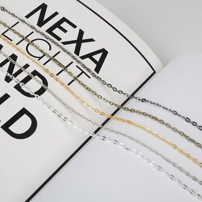 雜貨小鋪 diy鏈條手工制作 自制流蘇耳環耳墜耳釘耳夾飾品的零件配件材料包!十件起售!