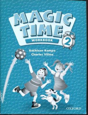 兒童美語系列 Magic Time《2》Workbook  59頁 原價180元