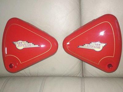 Royal Enfield Bullet 350 印度炮邊盒(紅色)/品相良好/ 老車重型機車越野車零件/新竹市可面交