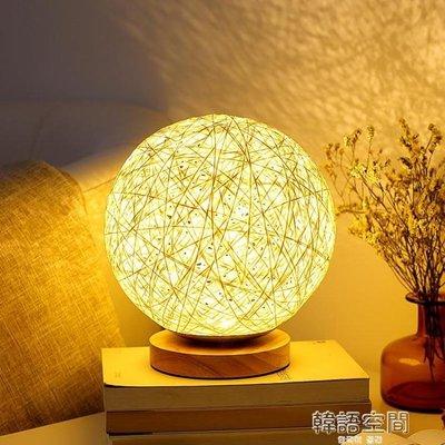 溫馨浪漫LED小夜燈創意調情趣小臺燈簡約現代宿舍寢室床頭燈臥室