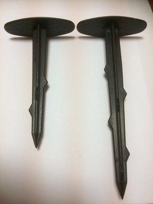 塑膠釘,雜草抑制蓆固定釘、21公分塑膠釘3元
