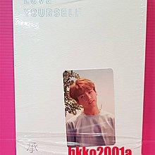BTS [ Love Yourself 承 Her ]( JK 柾國小卡) 現貨 -hkko2001a- 防彈少年團