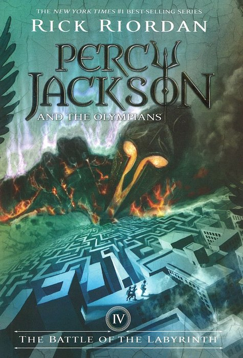 *小貝比的家*PERCY JACKSON #4 : THE BATTLE OF THE LABYRIN/平裝/12歲以上