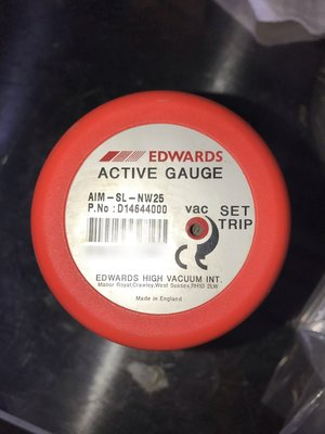 EDWARDS AIM-SL-NW25 ( D14644000 ) Vacuum Gauge