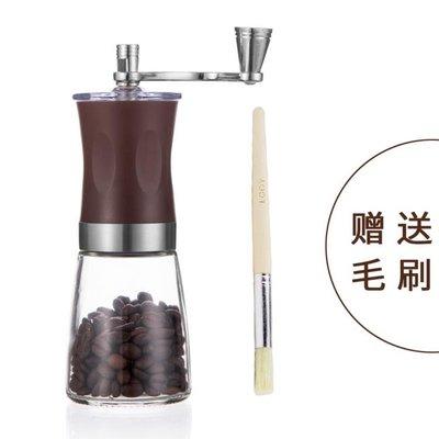 磨豆機 單品手工手動磨咖啡豆打粉碎機現研磨機器迷你手搖小型家用 - 【台灣現貨】
