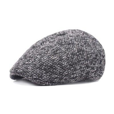 貝雷 帽 鴨舌帽-秋冬加絨護耳保暖男女帽子3色73tv224[獨家進口][米蘭精品]