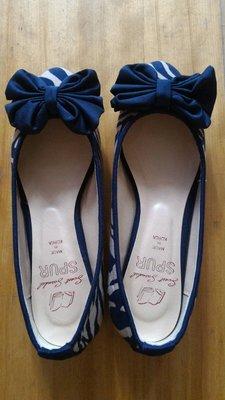 韓國品牌SPUR蝴蝶結娃娃鞋