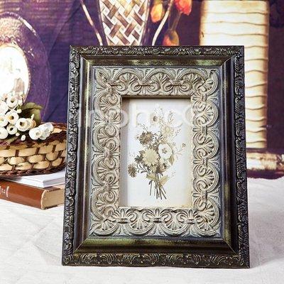 INPHIC-五吋相框歐式復古奢華桌擺相框擺臺立式相架裝飾擺飾軟裝飾品