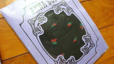 日本原裝Anna Sui櫻桃基本款黑色褲襪~賣場Anna Sui均一價450