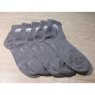HiTEX 一雙10元  台灣社頭 灰色 襪子 1/2襪 中筒襪 學生襪 工作襪
