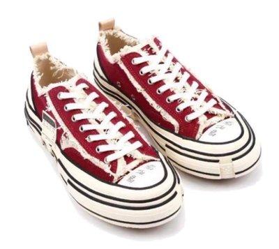 [FDOF] 預購 XVESSEL BY VANNESS G.O.P RED LOW 2019 紅色解構帆布鞋 吳建豪