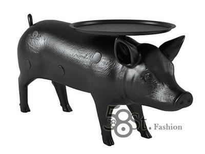 【58街燈飾-新竹館】設計師款式「pig table 小豬桌子 茶几」。複刻版。ZC-131