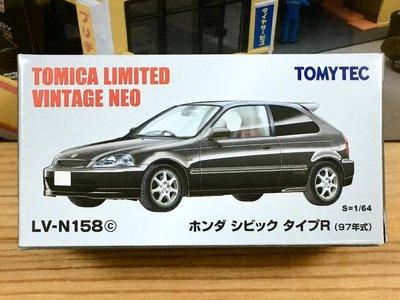 TOMYTEC LV-N158c Honda CIVIC Type R 97年式 (黑)