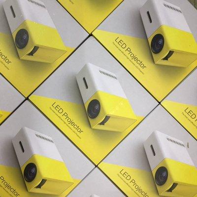 迷你投影機 支援 1080P輸入 可插記憶卡/USB/HDMI 輸入 可裝分享器