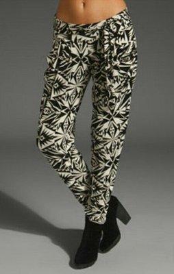 Rachel Pally 幾何圖型花花棉質褲