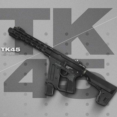 JHS((金和勝 槍店))免運費 KWA 次世代 TK45 ERG 後座力電動槍 6541
