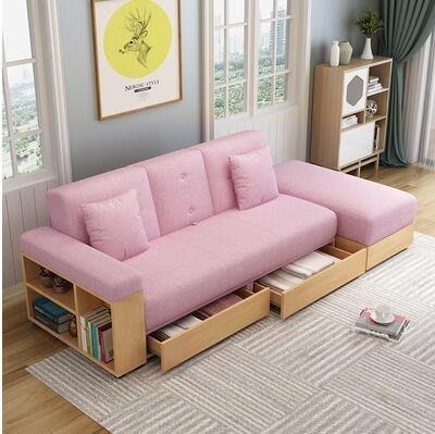 【免運】摺疊沙發床兩用可收納儲物多功能組合客廳省空間梳化小戶型 YPJJ115365