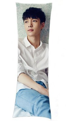 EXO 抱枕 張藝興 抱枕 LAY抱枕 等身抱枕 長抱枕 雙面印刷 雙面圖可不同 生日禮 贈品
