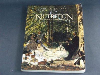 【懶得出門二手書】《Nutrition : concepts and controversies》
