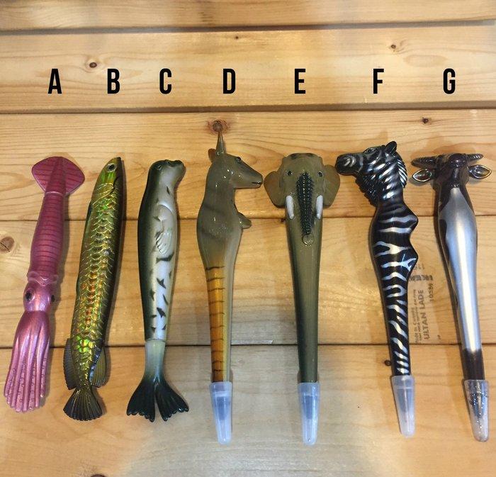 (I LOVE樂多) 造型動物筆 共6種款式供你選擇