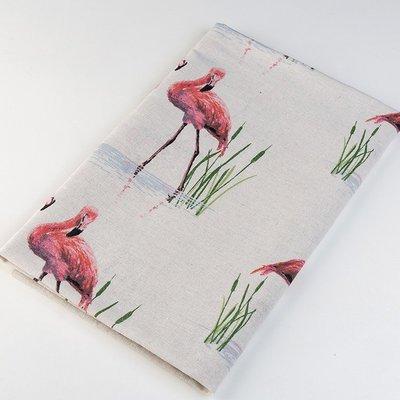 戀物星球 日韓田園風格亞麻布料桌布抱枕窗簾門簾沙發布藝裝飾背景面料