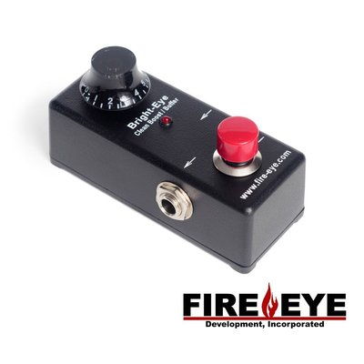 Fire eye Bright-eye 美國專業手工 吉他前級 Clean Boost Buffer - 【黃石樂器】