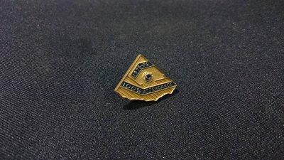 *阿柱的店*早期1975-1976  國際 獅子會 100% Attendance 紀念徽章