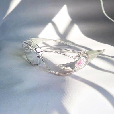[現貨來了]台灣製 高品質檢驗ANSI Z87+護目鏡 防護眼鏡 防霧 防飛沫噴濺 透明工作護目鏡