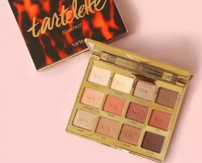 Tarte tartelette™ toasted eyeshadow palette 12色眼影盤【愛來客 】