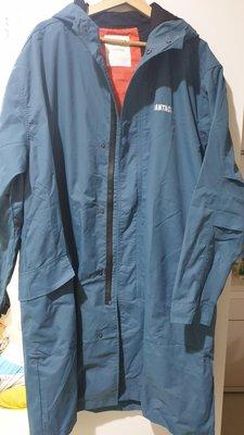 周杰倫 品牌 PHANTACI 風衣外套 防水外套 長版外套 XL