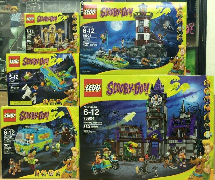 【痞哥毛】LEGO 樂高 75900 75901 75902 75903 75904 酷比狗一套5盒 全新未拆 免運