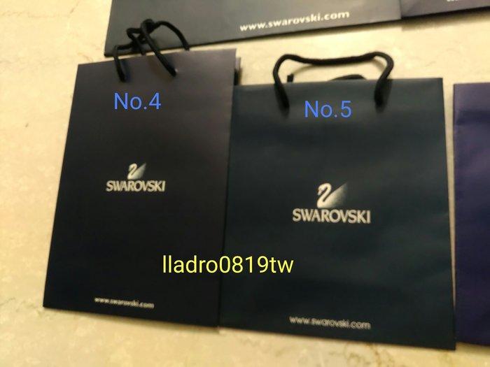 (全新No4,6,7有3款)施華洛世奇 水晶專用 原廠 紙提袋 紙袋 精品 名牌提袋 SWAROVSKI