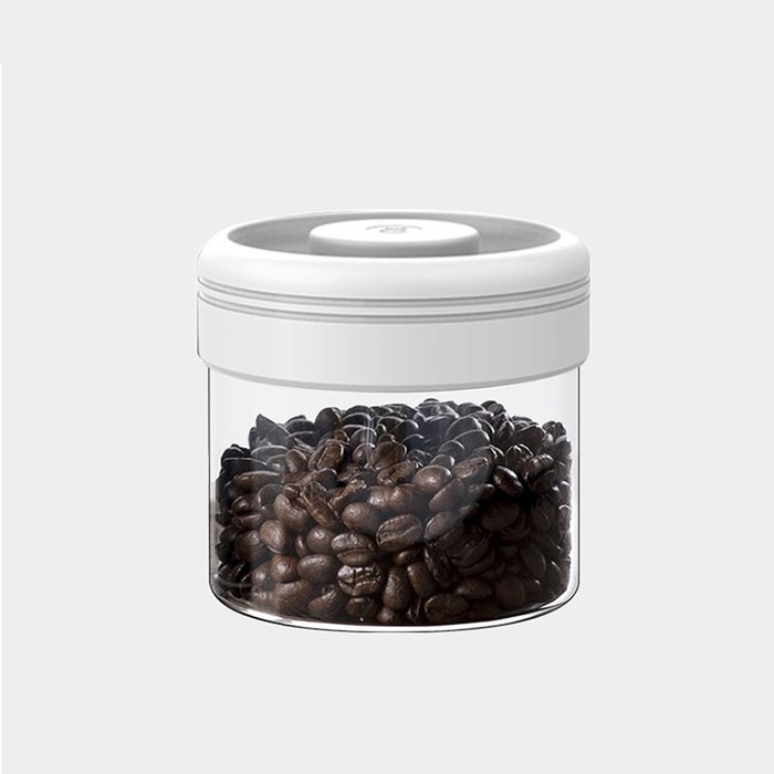 Timemore泰摩真空保鮮玻璃密封罐-400ml(白色新款)