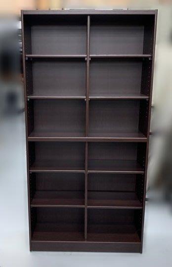 台中二手家具賣場 西屯樂居中古傢俱館 EA224-4Ai*新12格書櫃 書架*櫥櫃 客廳桌椅 酒櫃 展示架 餐桌椅
