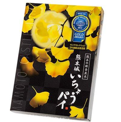 Mei 小舖☼預購!日本 熊本名產 清正製菓 熊本城 銀杏造型千層酥 餅乾 (約手掌大小)10入/盒