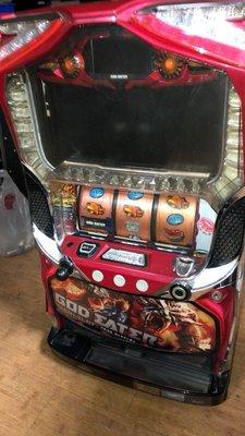 日本原裝機台SLOT 斯洛2015噬神者-五號機大型家用電玩遊戲機插電即玩拉霸機)非小鋼珠PUB酒店打造自己遊戲空間