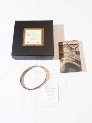 LOUISZ HANNIBAL Drill bracelet. (Gold) 手環