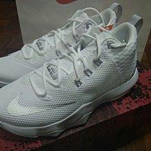 全新Nike Lebron James Ambassadir IX US9 SHOE 波鞋 basketball white 白色 藍球