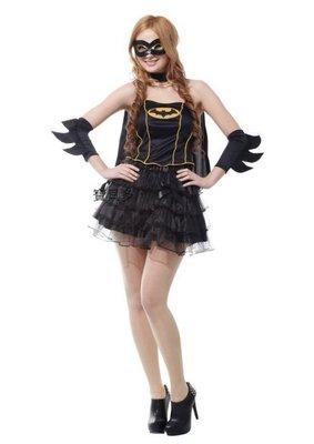歡樂賣 萬聖節服裝,萬聖節道具,變裝派對,大人變裝服/性感蝙蝠女