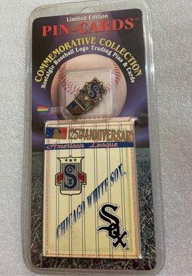 [美]MLB 美國大聯盟 1995 隊徽 徽章 CHICAGO WHITE SOX  芝加哥白襪隊 出清