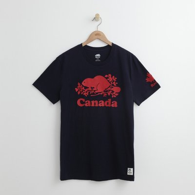 Look 鹿客 ROOTS 加拿大日短袖T恤-男 RC39170008