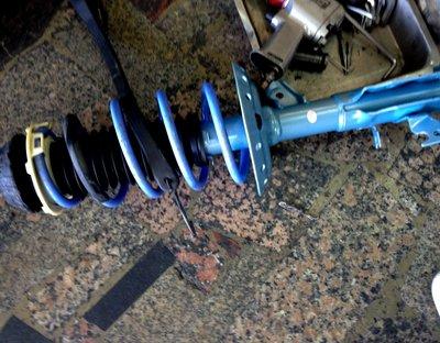 【童夢國際】日本 KYB NEW SR 藍筒避震器 LEXUS ES300 ES330 02- 專用 藍桶