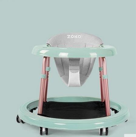 嬰兒學步車6/7-18個月寶寶學行車防側翻手推可坐多功能可摺疊FA