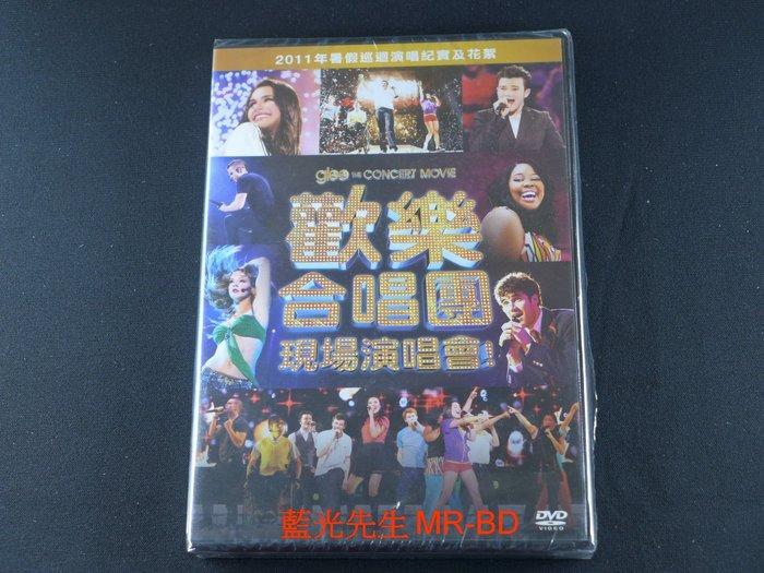 [藍光先生DVD] 歡樂合唱團 : 現場演唱會 Glee : The Concert Movie ( 得利正版 )